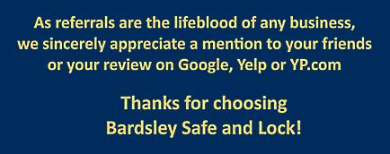 LOCKSMITH | SAFE TECHNICIAN in Grass Valley, CA - Bardsley Safe and Lock